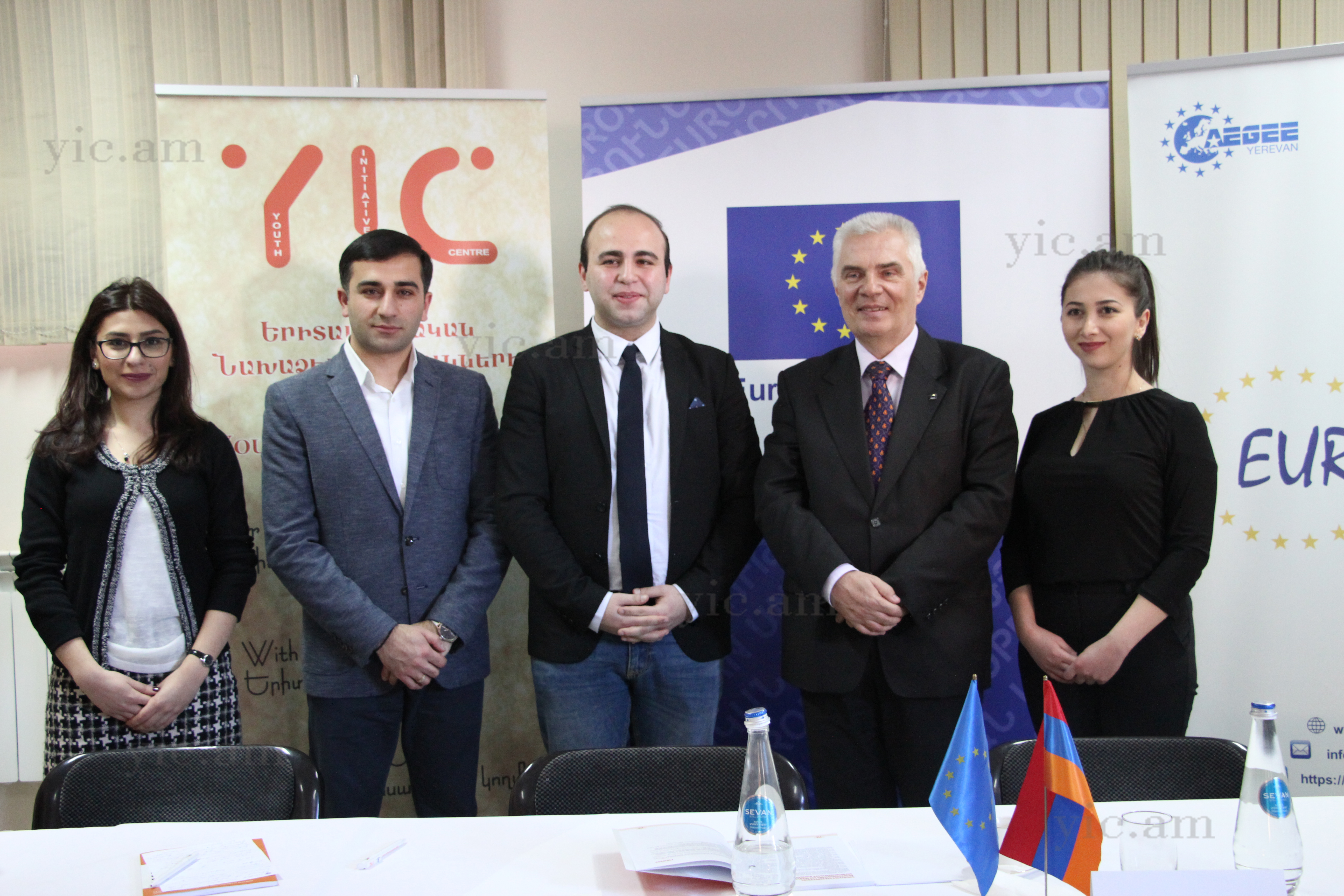 Meeting with EU Ambassador in Armenia Peter Svitalski