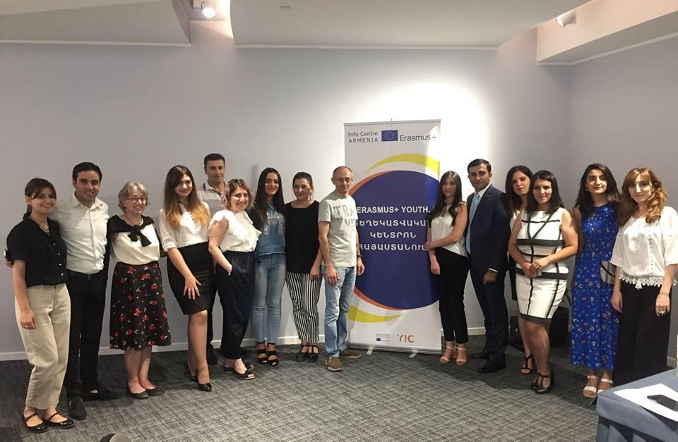 Հայաստանում Erasmus+ Youth. Տեղեկատվական կենտրոնը շարունակելու է իր գործունեությունը