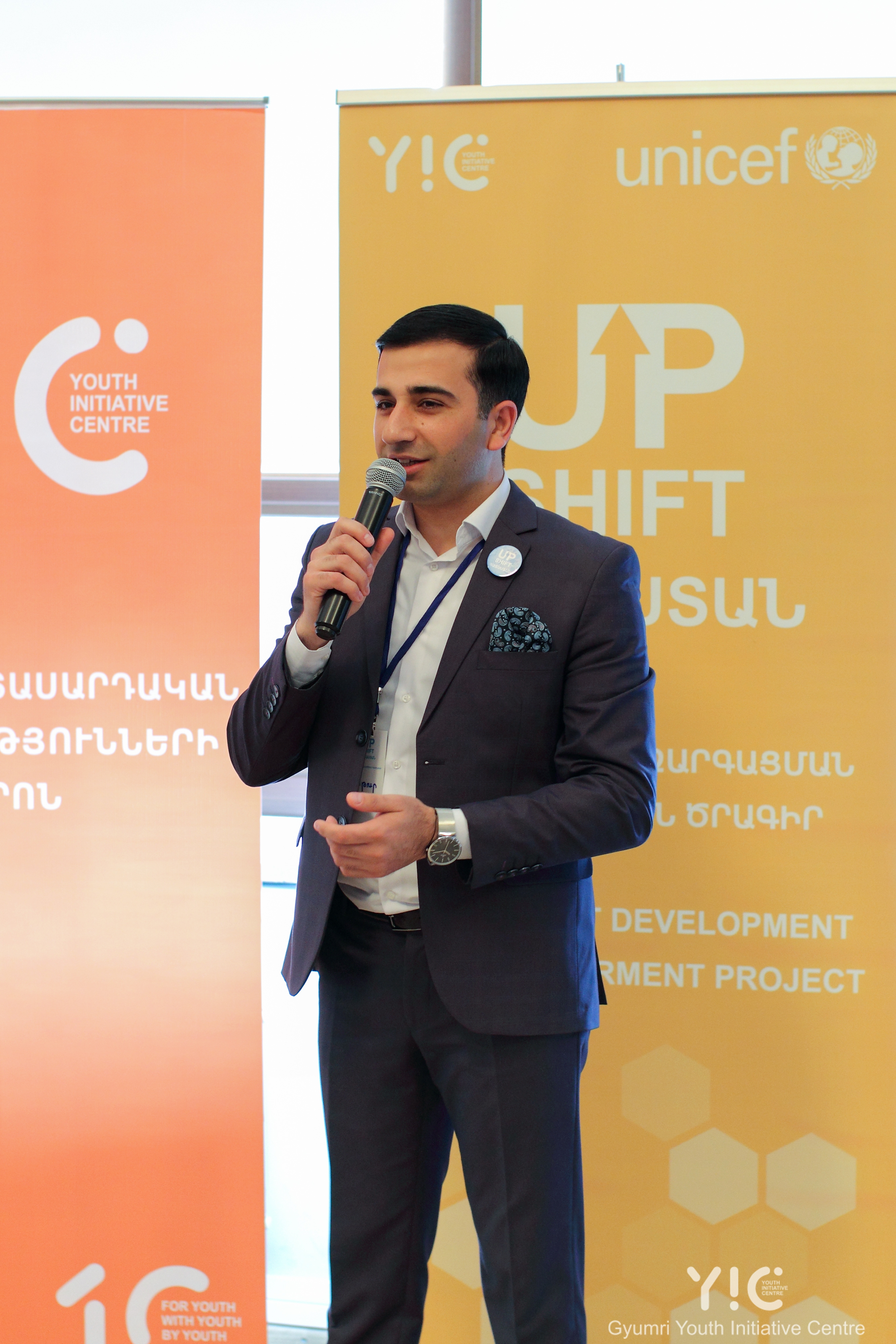 April 2019, city of Gyumri, Project Design training for Upshift adolescent teams by YIC and Unicef.